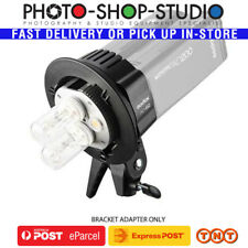 AU*Godox AD-B2 Witstro S-Type Bracket Twin Head Adapterfor AD200 Pocket Flash