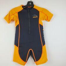 Aqua Sphere Stingray kids / childs wetsuit core warmer short sleeve size 8 euc