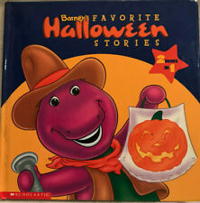 Barney's Favorite Halloween Stories Trick Or Treat Halloween Party 2 Books In 1