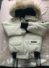 AUTHENTIC CANADA GOOSE XS CHILLIWACK BOMBER RRP850 IN WHITE