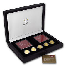 2012-2016 Austria 5-Coin Gold Klimt and His Women Proof Set - SKU #102687
