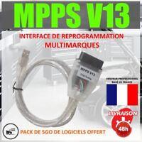 ★ EXCLUSIVITE ★ Câble / Interface MPPS V13.02 + Logiciel MPPS V16 Flash TUNING