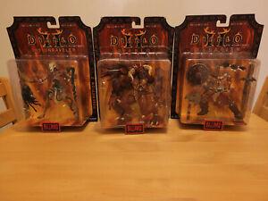 Diablo 2 Blizzard 2000 Action Figure Set Brand New RARE
