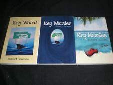 Robert Tacoma 3 Florida Keys Series trade paperback Key Weird Weirder Manatee