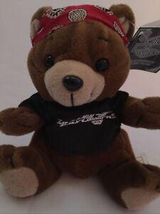 "Harley Davidson Teddy Bear 7"" Roamer With Tags 1997"