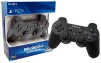 BLACK SONY OEM PS3 SIXAXIS DUALSHOCK PLAYSTATION 3 WIRELESS CONTROLLER UK STOCK