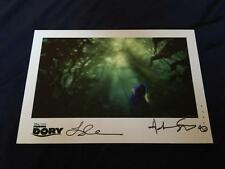 FINDING DORY D23 EXPO 2015 LITHOGRAPH SIGNED BY STANTON + COLLINS NEMO PIXAR