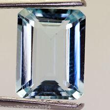 4,32 cts, AQUAMARINE NATURAL ( stones precious / fine )