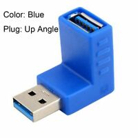 Connector High Speed Right+Left Type A Male To Female USB 3.0 Adapter Plug