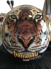 Vintage Retro Bieffe Chesterfield Motorbike Helmet Medium 58 GR.1500