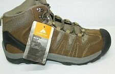 OZARK TRAIL Hiker Brown Genuine Leather Waterproof Mid Hiking Boots Men's Size 8