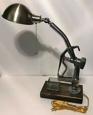 Gas Pump Handle Desk Lamp - Squeeze Pump Handle or pull chain to turn on light