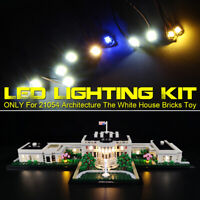 LED Light Lighting Kit For LEGO 21054 Architecture The White House Bricks