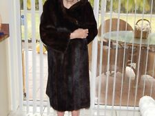 Black Diamond Full Mink Coat in Fabulous Condition!! From a Chicago Estate