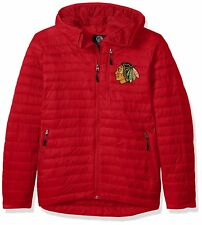Chicago Blackhawks NHL Men's XL Equator Quilted Packable Puffer Jacket NWT G-III