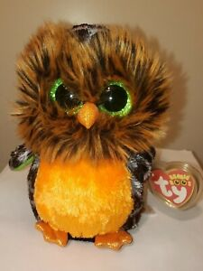 Ty Beanie Boos - MIDNIGHT the Owl (6 Inch) NEW - MINT with MINT TAGS