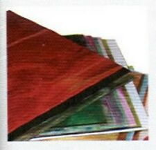Stained Glass Supplies 6 X 8 VARIETY GLASS PACK (Free Shipping)