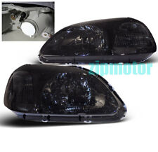 96 97 98 HONDA CIVIC JDM CRYSTAL HEADLIGHTS SMOKE SI/EX