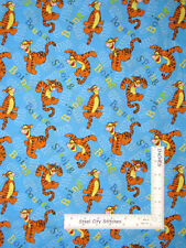 Disney Winnie The Pooh Tigger Sproing Cotton Fabric Springs CP23184 By The Yard