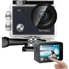 Akaso V50X Native 4K30fps WiFi Action Camera with EIS Touch Screen