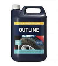 CP44005 - Concept Outline Silicone Free Tyre & Rubber Dressing 5L