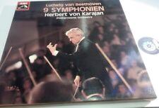 BOX 7 LP 33 Beethoven Karajan Philharmonia Orchestra 9 Symphonien 1976 ITALY