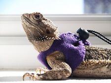 Purple Bearded Dragon Harness Leopard Gecko Rankins Accessories Leash Lead