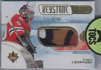 Corey Crawford 2016-17 Ultimate Collection Keystone Fabrics Patch 42/49 Hawks