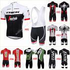 2017 New Mens Bicycle Sport Cycling Team Short Sleeve Jersey&Bib Short Pant Sets