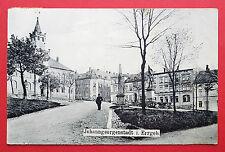 AK JOHANNGEORGENSTADT im Erzgebirge 1913 Platzansicht mit Denkmal  ( 16012