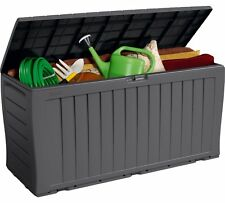 Keter Marvel 270 L Plastic Garden Storage Box Anthracite or Brown Waterproof