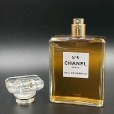 Chanel No. 5 Eau de Parfum 3.4 oz / 100ml for WOMEN New and Sealed Box Authentic