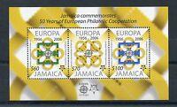 Jamaica 2006 MNH Europa CEPT 50th Anniv 3v M/S European Philatelic Cooperation