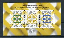 Jamaica 2006 MNH Europa CEPT 50th Anniv 3v M/S European Philatelic Cooperation