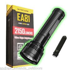 Nitecore EA81 Flashlight +FREE Sunwayman R01A Flashlight
