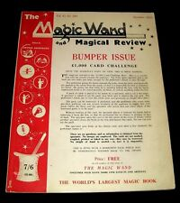 The Magic Wand & Magical Review 1954 Illustrated Trick Magazine George Armstrong