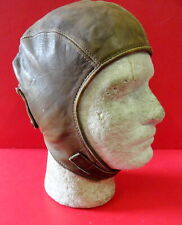VINTAGE BUCO LEATHER FLYING HELMET- J. BUEGELEISEN CO.