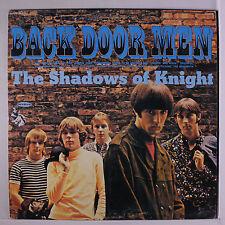 SHADOWS OF KNIGHT: Back Door Men LP (Euro, reissue red/yellow 1841 Broadway add