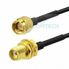 Low loss Coaxial Cable LMR100 with SMA Male to SMA female ( Equiv.RG316 )
