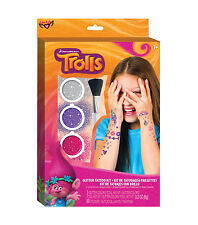 Dreamworks Trolls Glitter Tattoo Kit ~ NEW