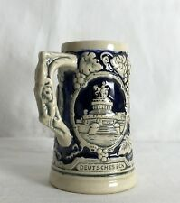 Vintage Small Deutches Eck Vintage Ironstone Tankard Beer Mug 10cm Tall