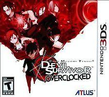 NEW Shin Megami Tensei: Devil Survivor Overclocked  (Nintendo 3DS, 2011)