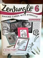 Zentangle 6 Making Cards with Stencils By Suzanne McNeill