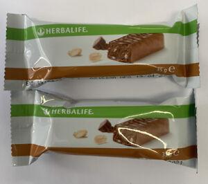 2x Herbalife protein bar peanut 35g
