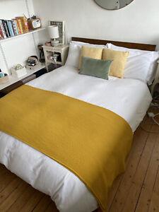 Warren Evans double bed with memory foam mattress