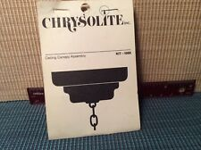 dollhouse miniatures 1:12 Chrysolite Ceiling Canopy Assembly Kit NOS