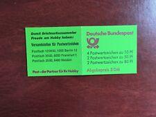 GERMANY BRD FRD BOOKLET MNH DEUTSCHE BUNDESPOST 3 DM GREEN