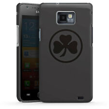 Samsung Galaxy S2 Premium Case Cover - Black and grey SpVgg