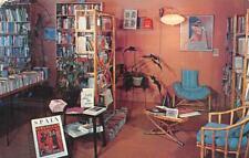 STUDIO 44 San Francisco, CA Book Store Interior ca 1950s Vintage Postcard