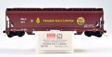 3 Bay Covered Hopper   Prairie Malt Limited  MTL 94130  Rd 1011   N-scale  NIB